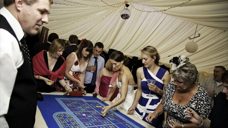 North Wales Party Marquee
