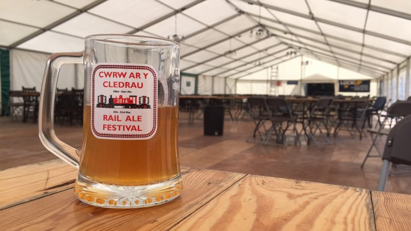 Rail Ale Festival Marquee North Wales