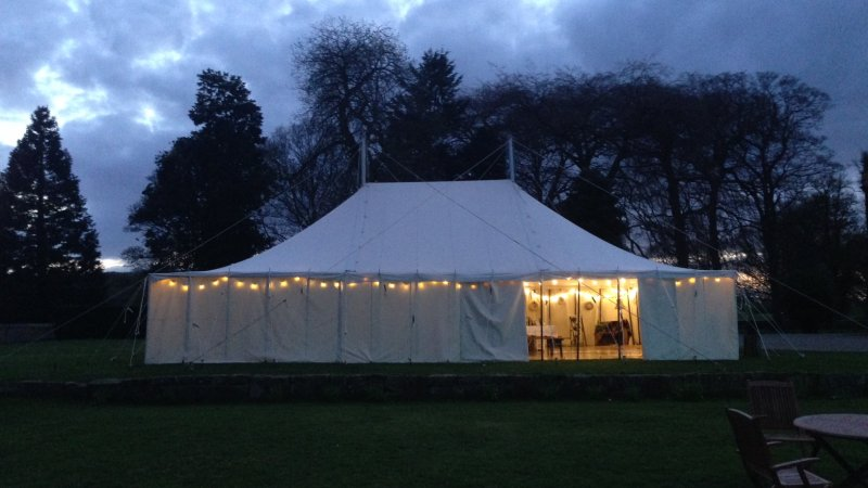 Traditional Canvas Marquee